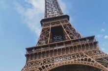 我在埃菲尔铁塔