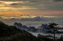 黄山|夕阳暮色,带着一种浪漫的诗意