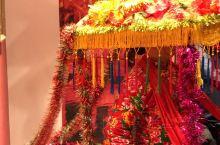 周庄博物馆收藏了花轿和很多古代的物品。