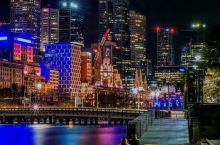 墨尔本的迷人夜景