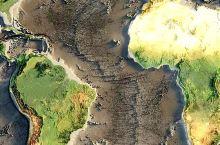 把大西洋的水都抽干, 海洋的底部露出水面