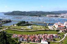 福建金汤湾海水温泉度假酒店航拍全景