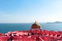 蓝色海洋里装着红色的心——漳州火山岛