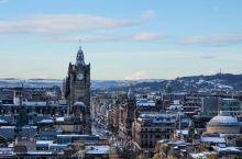 雪中的爱丁堡
