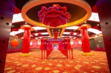 几个婚宴厅都很美,最后选择了中国风,非常的大气