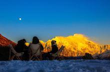 冬天的南迦巴瓦峰