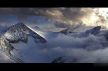 喜马拉雅山脉中的陆地山岳冰川