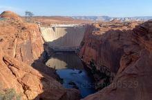 格伦大坝控制着科罗拉多河的水流