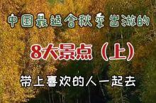 中国最适合秋季出游的8大景点(上),带上喜欢的人一起去吧#旅行大玩家 #旅行推荐官 #秋天该有的样子
