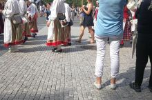 捷克市中心广场