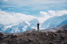 """新疆」帕米尔高原 """"冰山之父""""慕士塔格峰"""