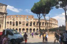 我在罗马斗兽场
