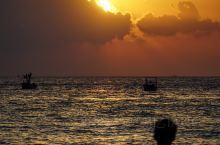 有生之年系列,涠洲岛的海上日落真的绝。
