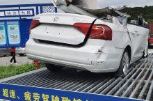 京珠高速公路上的警示