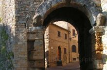 意大利的一个古老的城市