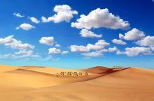 腾格里沙漠徒步 五湖穿越