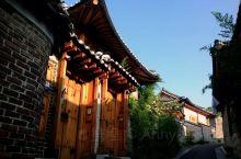 漫步韩国首尔的北村韩屋村