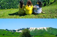 新疆|那拉提草原壁纸里的风景