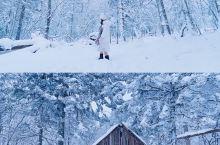 长白山老里克湖雪岭 遇见童话世界