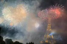 巴黎 | 国庆节烟花秀