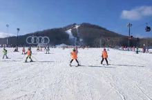 吉林长白山滑雪胜地啊