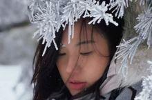 一个人独享三清山的初雪,世界真美