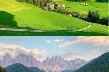 独特魅力多洛米蒂  意大利多洛米蒂Dolomiti山区有着辨识度极高的独特锯齿形白云岩山峰,散落其间