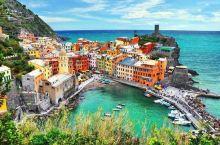 美丽的意大利五渔村