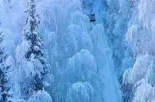 延安南泥湾雪景