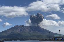 鹿儿岛樱岛火山