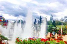 大叻城市花园,建在湖边的美丽公园