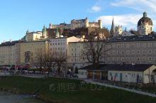 奥地利第四大城市-萨尔茨堡城市街景