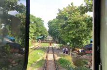 仰光环城小火车