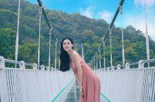 天露山云端玻璃桥,惊险刺激,步步惊心~
