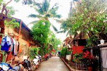 琅勃拉邦老城的街