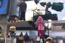 奥兰多环球影城 下午的parade