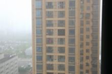 早上醒来,外面的雾气朦胧,能见度太低。