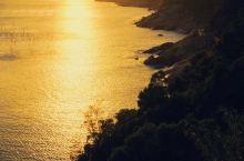 去霞浦东壁看一场金黄色的日落