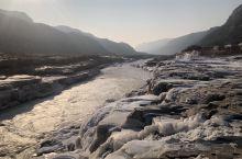 冬日的黄河壶口瀑布