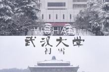 武汉雪景  | 飘雪中的樱花城堡