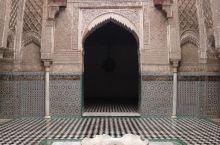 摩洛哥的非斯麦地那