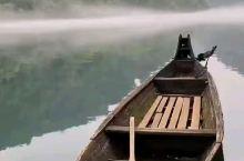 零距离观赏小东江起雾