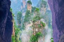 张家界天子山,绝美的峰林奇景