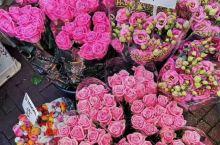 走进鲜花市场