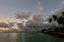 最后一天:夏威夷威基基海滩的2020年