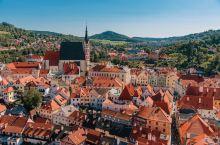 童话世界般的克鲁姆洛夫小镇