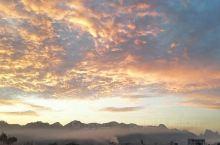 山里的早晨