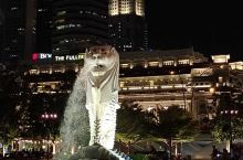 新加坡滨海湾真是一个不夜城