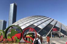 美丽的滨海站,可惜设计成了一个终点站!各方面都是世界一流的设计设施!