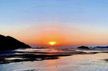 北岐滩涂的日出